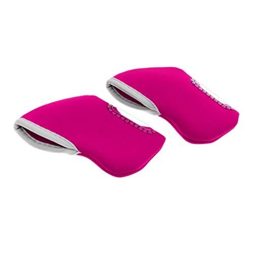 Inzopo 10 piezas de neopreno para palos de golf, funda protectora de hierro, para cabeza de palo, para Ping Taylormade Mizuno Callaway, color rosa