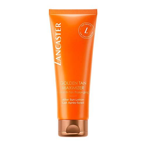 LANCASTER Golden Tan Maximizer After Sun Lotion, Repair-Komplex rehydriert und beruhigt, für empfindliche Haut, 125 ml