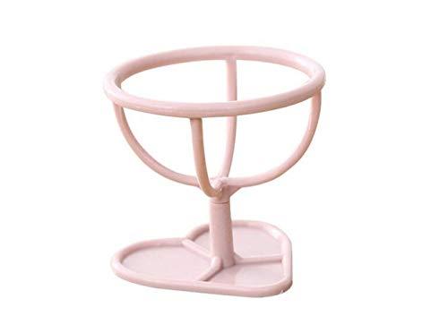 Support de Maquillage éponge en Plastique beauté sans Faille Maquillage Blender Foundation Oeuf Poudre Rack de séchage feuilletée, Rose