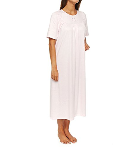 Calida Soft Cotton Short Sleeve Night Shirt Gown (33400)