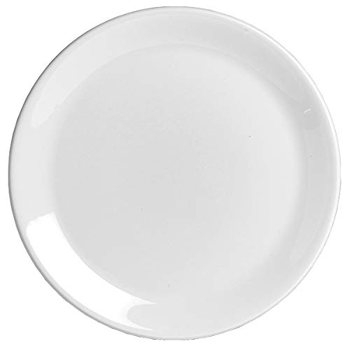 Steelite Taste Coupe Plato 23 cm | Plato de cena de 22,8 cm, plato de cerámica