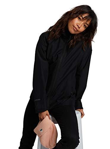 Burton Womens Gore-Tex Packrite Rain Jacket, True Black, Large