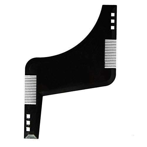 Bart-Schablone Für Herren Bart Beard Template Neck and Sideburns Beard Stencil Styling Beard Template Beard Comb Tool Symmetrical Accurate or Beard Line Styling