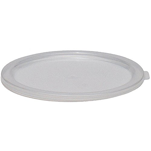 Review Cambro Translucent Lids for 6 and 8 qt. Round Containers, Pack of 12 RFSC6PP-190