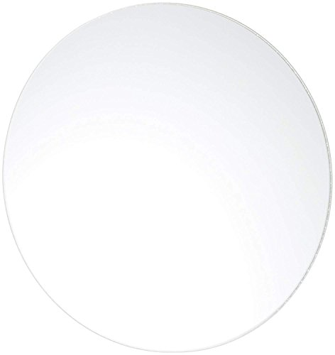 Homeford Firefly Imports Round Mirror Base Centerpiece, 18-inch, 6-Pack