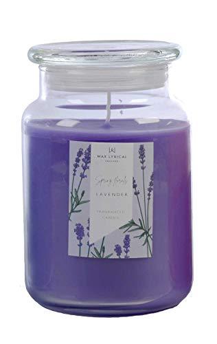 Wax Lyrical Duftkerze im Glas, Lavendel, bis zu 135 Stunden Brenndauer