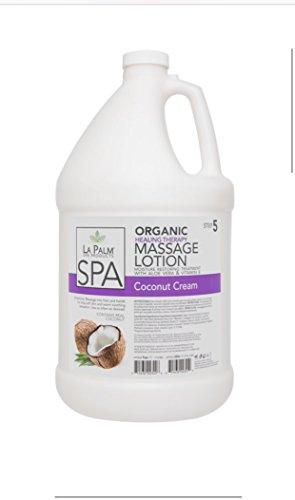 Purchase La Palm Massage Lotion 1 Gallon (Coconut Cream)