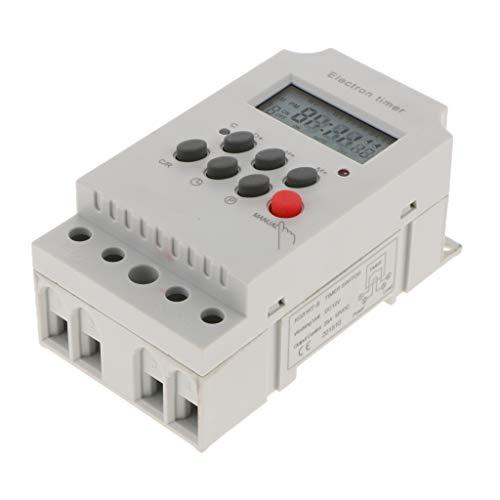 12V DC AC Digital Zeitschaltuhr Programmierbar Timer Zeit Relais mit Mikrorelais