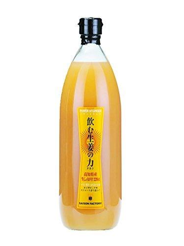 セゾンファクトリー 飲む生姜の力 1000ml 高知県産生姜使用 はちみつ入り生姜ドリンク