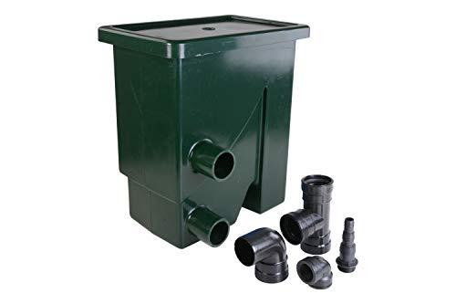 AquaForte Pumpengespeister Siebbogenfilter Compactsieve II, 300μ, grün