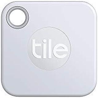 Tile Mate 2020 Bluetooth Schlüsselfinder, 1er Pack, 60m Reichweite, 1 Jahr Batterielaufzeit, inkl. Community Suchfunktion, iOS und Android App, kompatibel mit Alexa und Google Home weiß
