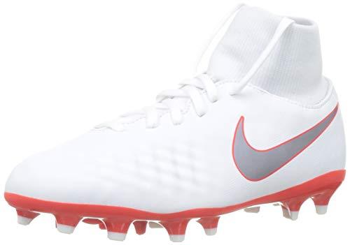 Nike Magista Obra II Academy DF FG, Zapatillas de Fútbol Unisex Niños, Blanco...