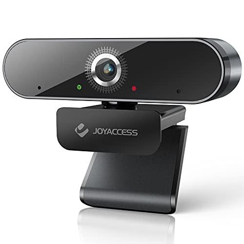 JOYACCESS Webcam PC, Webcam Full HD 1080p,Telecamera PC con Microfono, Vista Wide-Angle 120° per Lo Streaming e Le Videoconferenze su Zoom, Twitch,Skype, Youtube, Compatibile con Windows e Mac …