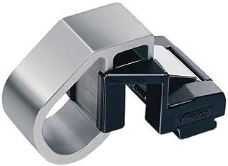 larghezza mm.15 Fapim Catenaccio ad appoggio per infissi in alluminio Mod.3712MADE IN ITALY in alluminio completo di incontro e viti di fissaggio.Colore nero RAL 9005 Misure altezza mm.150