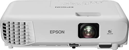"""Epson EB-E01 Videoproiettore Tecnologia 3LCD, XGA, 1024 x 768, 4:3, Contrasto 15000:1, 3300 Lumen, HDMI, WiFi, Proiezione fino a 350"""", VGA/HDMI, Altoparlante, Telecomando"""