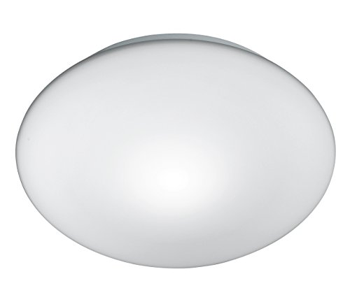 "Fischer & Honsel 24581 Deckenleuchte ""PUR"" Opalglas matt, Durchmesser 25 cm, 1 x E27, maximalm, IP20, 230V - 50 Hz, 40 W"