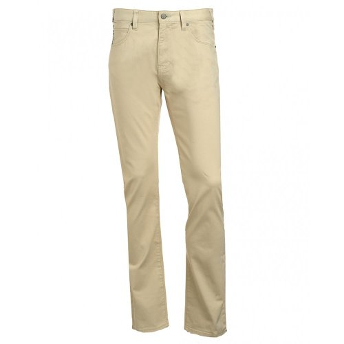 0859X Pantalone 5 Tasche Uomo Armani Jeans J45 beige Trouser Cotton Men [33]
