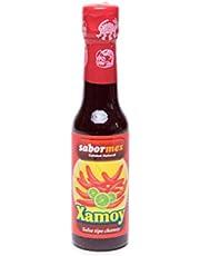 SABORMEX Salsa Xamoy Picante con Chile de árbol y Chile guajillo - 148 ml
