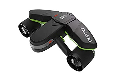 sublue Seabow Professional Smart Electric Underwater Scooter for Diving, Photography, Sports (Green)