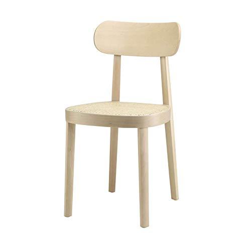 Thonet 118 Stuhl mit Wiener Geflecht - weiß