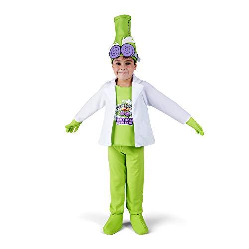My Other Me Disfraz de Super Things Profesor K Varias Tallas con 2 mascarillas de Regalo (4 a 5 aos)
