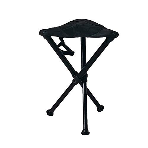 Tabouret Pliant en Tissu de Toile Chaise Pliante pour Randonnée Pédestre