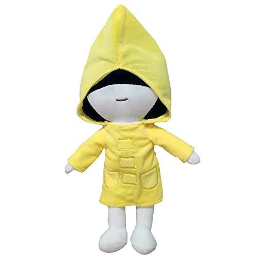 Peluche de pesadilla con personajes de dibujos animados suaves que acompañan al sueño del bebé, juguete de seis y nombre