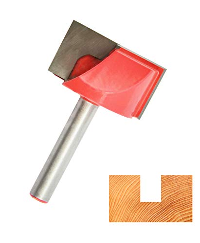 Corintian Nutfräser HM (HW) für Holz und Kunststoff - 6 mm Schaft - Nutenfräser aus Hartmetall und Grundschneidend - Ø 30mm