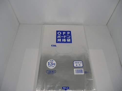 エヌ・アイ・シー OPPボードン袋13号4穴100枚