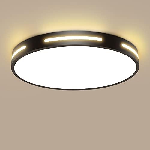 Dehobo Plafoniere da Soffitto 30W Plafoniera LED Soffitto Moderna Bianco Caldo 2800K Ultra...