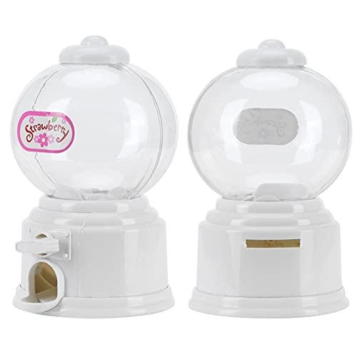Voluxe Banco de Dinero, Caja de depósito de plástico para niños para Caja de bocadillos de Chocolate(White)