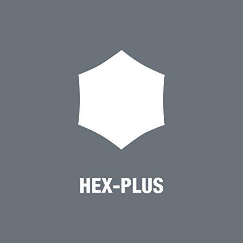 Wera Hexagon 950 PKL/9 SB L-Key Set, BlackLaser, Ballpoint Hex Key, 9 Piece