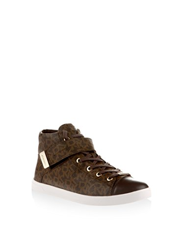 DKNY Betty 23991636 Baskets Hautes pour Femme, Marron, 38,5 EU