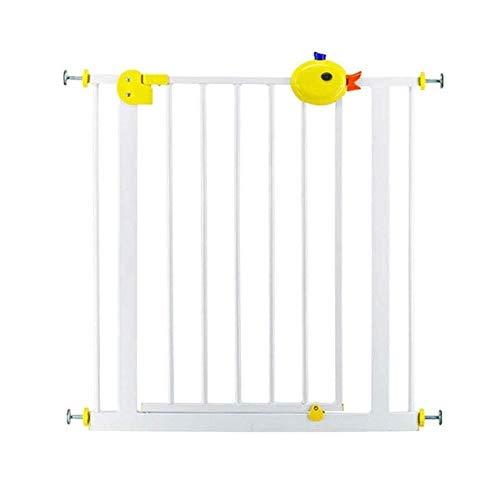 Barandilla RQ 67-125cm niño Puerta de la Barra de Seguridad automática de Retorno for Mascotas Guardia de Escalera (Size : W112-120CM)