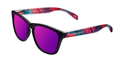 Northweek Jungle Edition Gafas de Sol, Pink, 140 Unisex