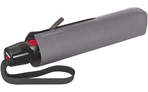 Knirps T.200 Medium Duomatic Regenschirm Taschenschirm T200 Auf-Zu Automatik sturmfest bis 140km/h solids rock