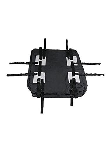 LINMAN Sacchetti di stoccaggio del Tetto dell'automobile Impermeabile del 100% Camping Travel 15 Pollici cubici Big Space Box Box con Pad Soft Pad off-Road SVU. Zaino