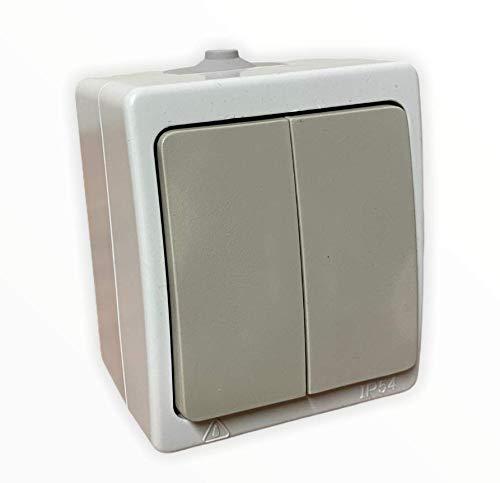 Aufputz Serienschalter IP54 Feuchtraum VDE