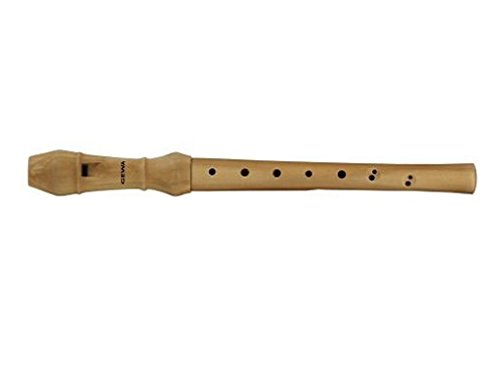 Gewa 700190 C-Sopran Blockflöte Natura barocke Griffweise, Grifftabelle