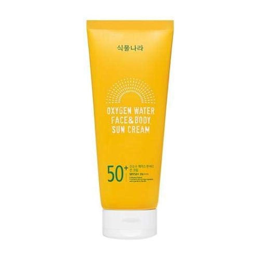 shingmulnara Oxygen Water Face & Body sun cream サンクリーム (200ml) SPF50+ PA+++