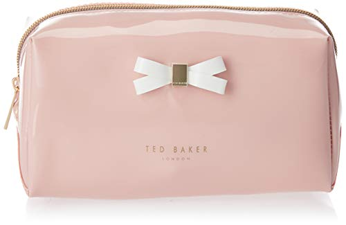 TED BAKER Bow Detail Damen Toilettentasche Rosa