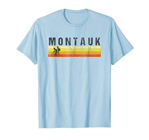Montauk Long Island T-Shirt - Vintage Style Beach Shirt