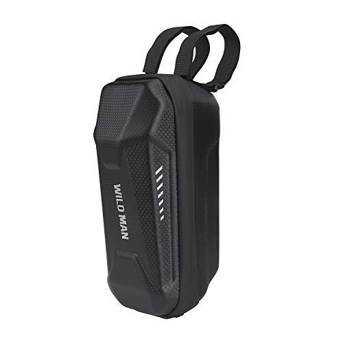 QIMEI-SHOP Scooter Tasche Wasserfest Scooter Lenkertasche Große Kapazität Roller Vordere Tasche für Elektroroller M365 E ES1 ES2 ES3 ES4 2L