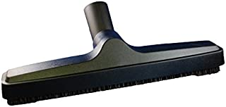 Genuine MP Soft Touch Deluxe Vacuum Cleaner or Central Vac Hardwood and Bare Floor or Wall Brush. Natural Delicate Horse Hair Bristles for thorough Cleaning. (12 Inch)