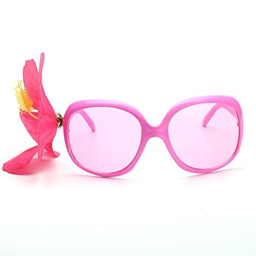 NKNVO Gafas De Sol De Fiesta Luau, Vidrio De Playa para Fiesta Temática De Hawaiin, Gafas De Sol De Fiesta Novedosas para Fiesta Tropical Luau