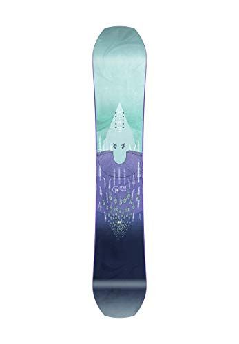 Nitro Snowboards Herren T3 Brd '21 Highend Pro Performance Twin Camber Freestyle Pipe Boards, mehrfarbig, 155