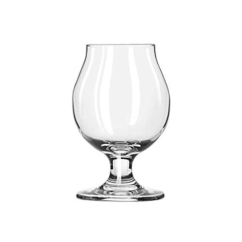 LLCOP Taza de Cerveza Artesanal con degustación de Cerveza, Cristal sin Plomo, Vasos de Cerveza Modernos, Apto para lavavajillas, Taza de Cristal de degustación de Regalo