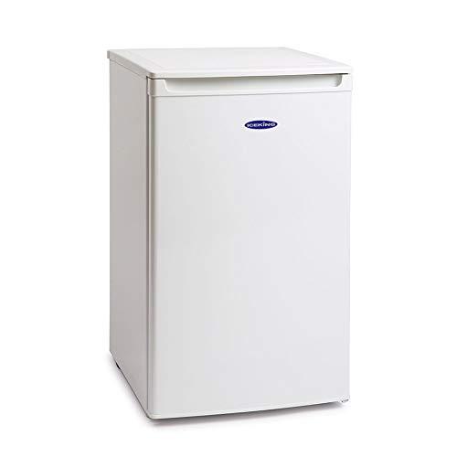 IceKing RL106WE Freestanding Under Counter Larder Fridge - 49.5cm, White