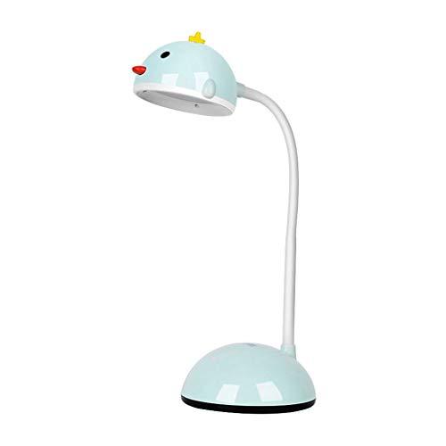 Lámpara de noche Escritorio del estudiante lindo de la lámpara plegable Eye Study Desk lámpara de escritorio USB, universidad del dormitorio del LED Mini lámpara de cabecera Lámpara de mesa para estud