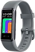 スマートウォッチ Alexa対応 YAMAY GT Band リストバンド型 2021最新版 歩数計 消費カロリー 腕時計 天気表示 着信通知 14スポーツモード追加 IP68防水 文字盤自由設定 日本語アプリ ios&Android 対応